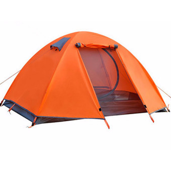 Outdoor Hiking Camping Backpacking Dome Tent 2 person 4 season Lightweight NEW - Intl