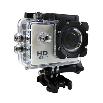 Ck Mobile Sport Action Camera 2.0 LCD Full HD 1080P No WiFi (สีขาว)""