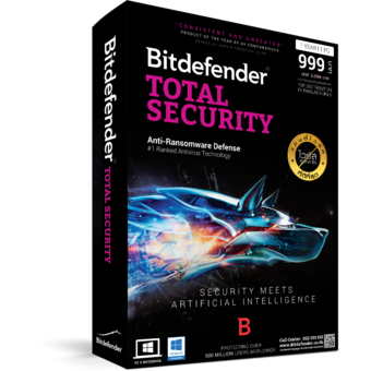 Bitdefender Total Security2016 (1Year/3Users)