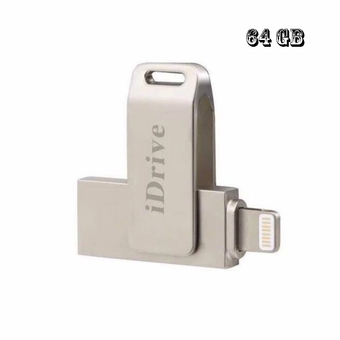 iDrive 64GB for iPhone5/6/6+/iPad+Sumsung (Silver)