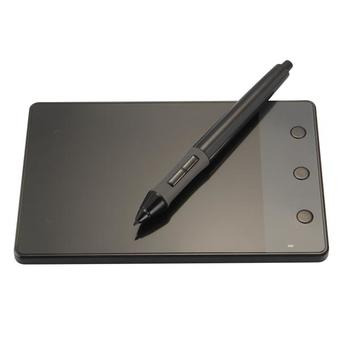 USB Writing Drawing Graphics Board Tablet 4x2.3 inch + Digital Pen