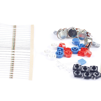 Electronic Parts Pack Kit for Arduino Component Resistors Switch Button ร้านค้าดี ราคาถูกสุด - RanCaDee.com