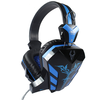 OKER Gaming Stereo Headset SM-639 (Black/Blue)