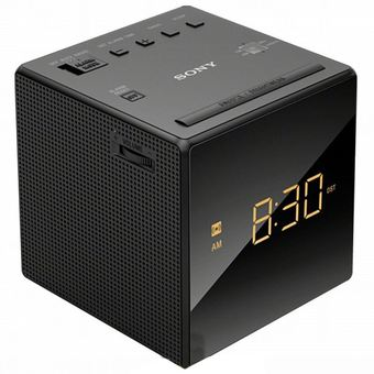 Sony ICF-C1 FM/AM Clock Radio (Black)