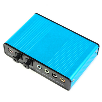 USB 2.0 Digital Optical Audio Sound Card External 7.1 Channel 5.1