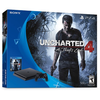 PlayStation 4 Slim Uncharted 4: A Thief's End Bundle (500GB Console) (US)