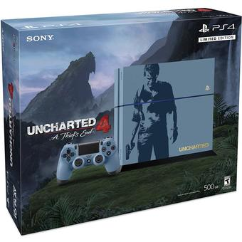 PS4 Playstation 4 Uncharted 4: A Thief's End Bundle 500GB