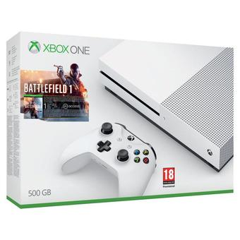 XBOX ONE S BATTLEFIELD 1 Bundle [500GB](Clear)