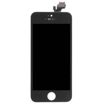 3 in 1 (High Quality LCD, Touch Pad, LCD Frame) Digitizer Assembly for iPhone 5 ( Black)