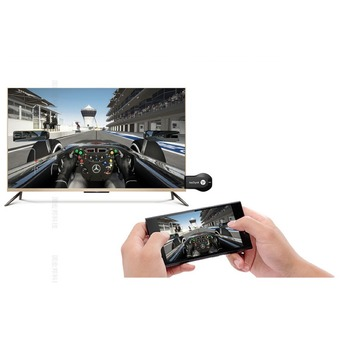 Anycast M2 PLUS HDMI WIFI Display For TV Andriod Screen Mirroring Cast Screen AirPlay Dlan Miracast รองรับทุกอุปกรณ์ ( สีดำ )