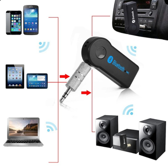 Bluetooth Speaker Car Bluetooth Music Receiver Hands-free บลูทูธในรถยนต์ รุ่น BT310(BLACK)