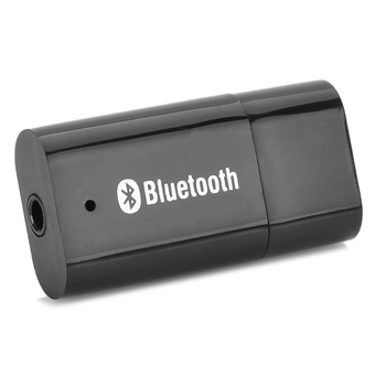 PT-810 Mini Style USB Bluetooth V2.0/EDR Audio Receiver Black