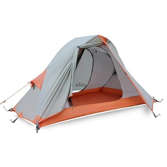 Hewolf 1-2 Person 4 Seasons Waterproof Outdoor Camping Tent with Carry Bag - Intl