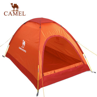 Camel Outdoor Caminp Hiking Travel Waterproof Two-person Tents Color Orange - Intl