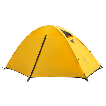 GEERTOP 1-Person 20D Lightweight Waterproof Dome Tent - For Camping Backpacking Hiking Travel 3 Seasons - Easy Set Up - Yellow.