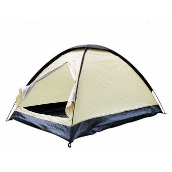 Single Layer Camping Hiking Tent Waterproof Travel Outdoor 2 Person Berth Dome (Intl)