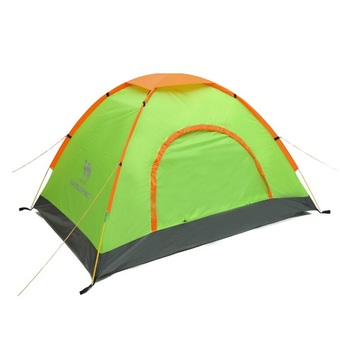 Camel Outdoor Camping Double-person Tents Three Season(Green) - Intl