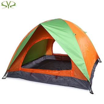 SHENGYUAN Water Resistant Camping Tent Tabernacle Sleeping Equipment (Green)