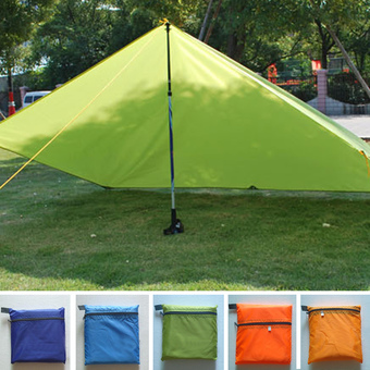 Moonar Outdoor Camping Beach Picnic Pad Cushion Canopy Tent Shelter Sun Shade (Green) Only tent