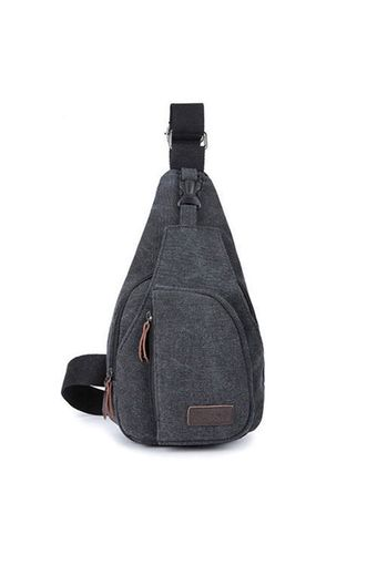 TravelGear24 กระเป๋าคาดอก Size 30x17x5cm Travel Shoulder Bag - Black/สีดำ(Int: One size)
