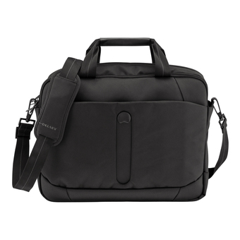 Delsey Bellecour 2CPT Satchel PC - Laptop Bags (Black)