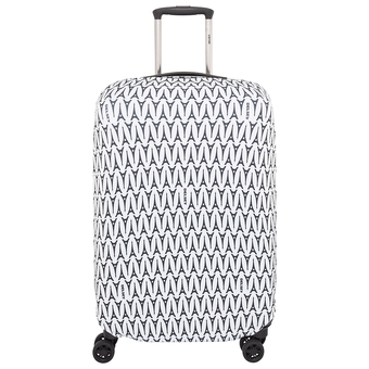 Delsey Luggage Cover(ผ้าคลุมกระเป๋า) - TN EXP Suitcase Cover M/L (Multicolor)