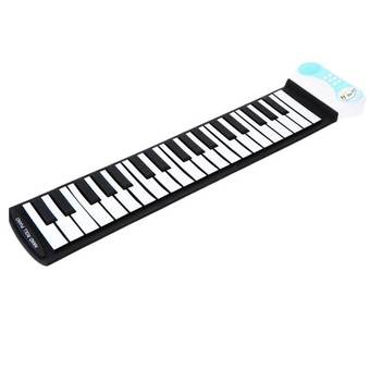 37 keys Portable Flexible Silicon Roll-up Piano Keyboard for Kids