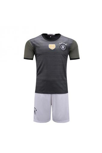 High quality 2016 European Cup Germany national Soccer Jersey Suit includes tops + Shorts.