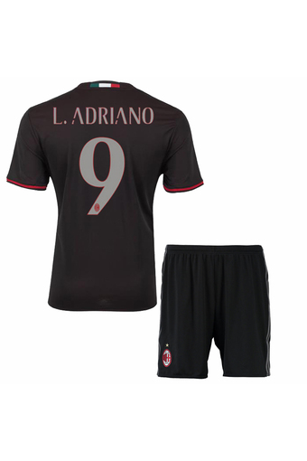 2016-2017 AC Milan Football team NO.9 Soccer Jersey suits include tops+shorts .