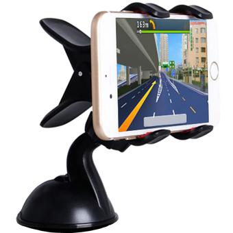 Best Universal Car Holder for Smart Phone Mobile Phone GPS - Black