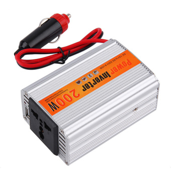 OH 200W Car Auto Inverter Power Supply Adapter 12V DC to 220V AC Laptop Computer Silver