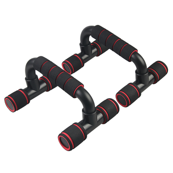 OH New Push Up Bars Stand Handle Exercise Training Pushup Chest Arms Tools Red - Intl