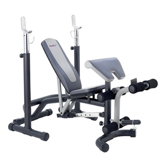 HOUSEFIT Weight Bench B-700 (Black/Grey)