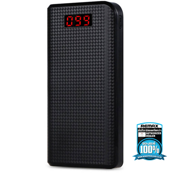 Remax แท้100% PRODA POWER BANK 30000 mAh LED (Black)
