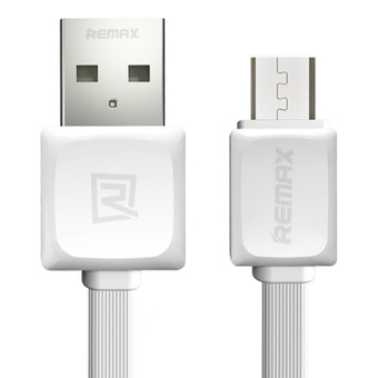 Remax RC-008m Quick Charge and Data Cable สายชาร์จ Micro USB for Samsung / Android (สีขาว)
