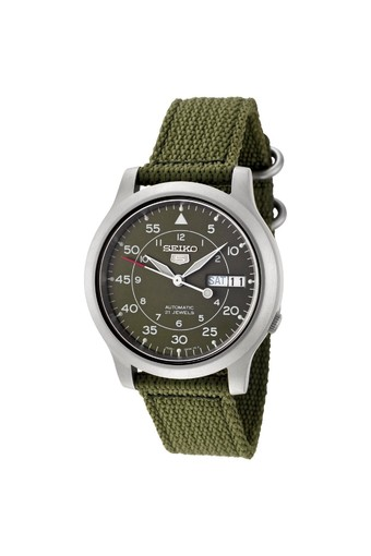 Seiko 5 Military Automatic Men's Watch รุ่น SNK805K2 - Green
