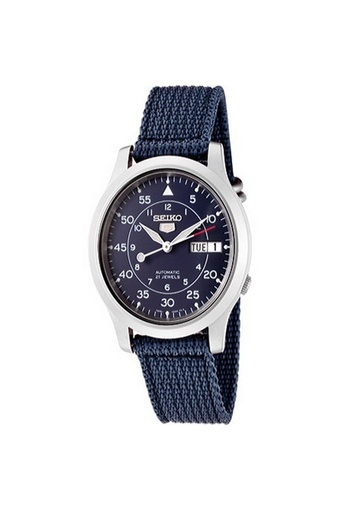Seiko 5 Military Automatic Men's Watch รุ่น SNK807K2 - Navy Blue