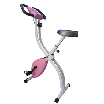 THAI-PRO Folding Magnetic Exercise Bike with iPad holder รุ่น IP-19801 (Pink)