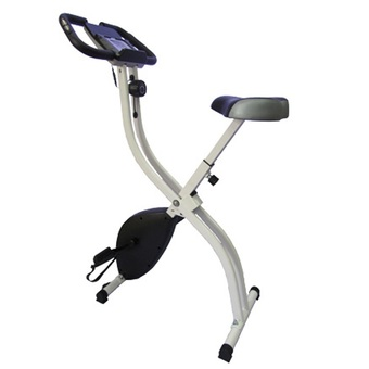 THAI-PRO Folding Magnetic Exercise Bike with iPad holder IP-19801 (Black)