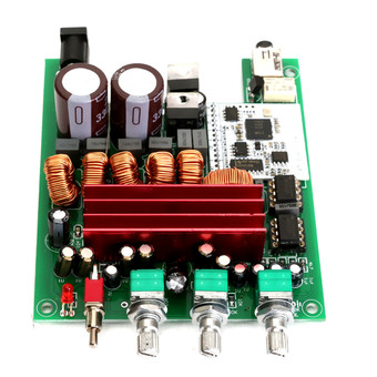 50W×2+100W Bluetooth 4.0 Audio Receiver HiFi TPA3116 Stereo Amp Amplifier Board - Intl