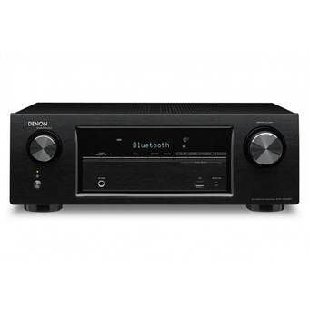 Denon AVR-X520BT 5.2 4K AV Receiver with Bluetooth (Black)