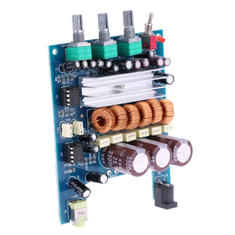 DC18V-24V TPA3116 NE5532 50Wx2+100W 2.1 Class D Digital Subwoofer Power Amplifier Board - INTL