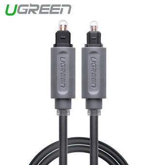 UGREEN Digital Optical Audio Cable Toslink SPDIF Coaxial Cable (1m)