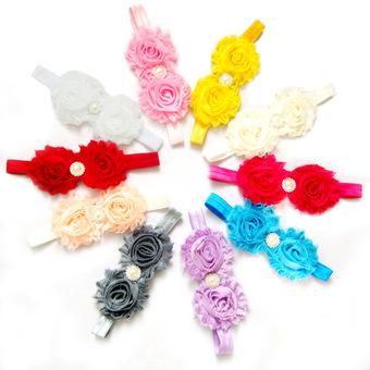 Baby Lace Flower Hair Band Accessories
