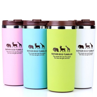 380ml Thermos Cup Termal Coffee Mug Stainless Steel Insulated Mug Thermo Cup Auto Car Heating Cups Thermo Mugs Vacuum Flask Hot