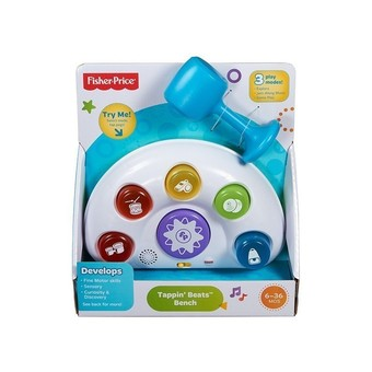 Fisher Price - Tappin' Beats Bench (Blue)