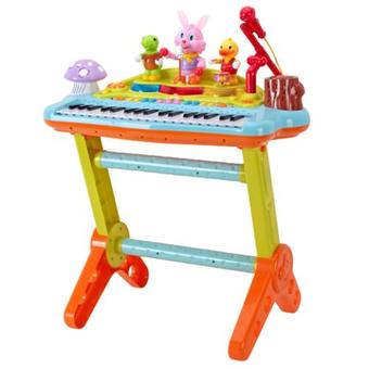 Huile Toys เปียโน Multifunction Piano(Multicolor)