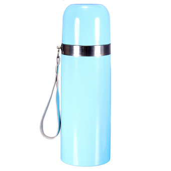 S & F NEW 12V Stainless Steel Car Auto Heat Electric Thermos Coffee Tea Cup Mug Bottle Blue