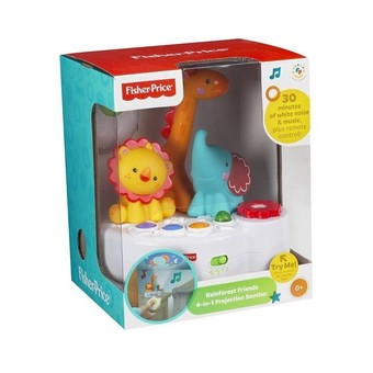Fisher Price Rainforest 4 in 1 Projector (White)