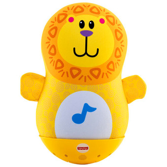 Fisher Price - Bat & Wobble Musical Lion (Yellow)